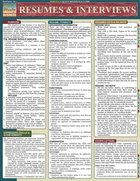 Resumes and Interviews Quick Study Reference Guide