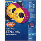 Avery Cd/Dvd Inkjet Labels