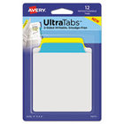 Avery Ultra Tabs Repositionable Note Tabs 12Pk