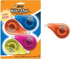 Bic Wite-Out Tape 4/Pack