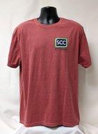 SCC Logo T-Shirt Left Chest 3 color Image