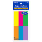 1X3 Neon Page Markers 6/Pack
